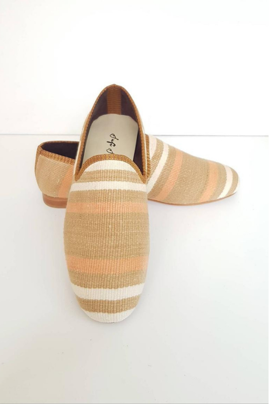 Men Kilim Loafer Handmade