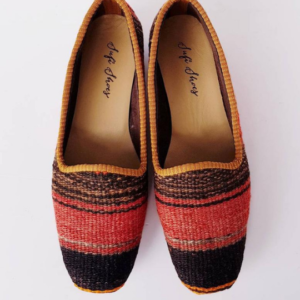 Vintage Kilim Shoes Handmade