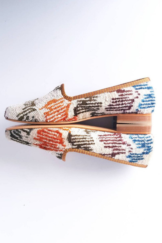 Women Ikat Shoes Handmade