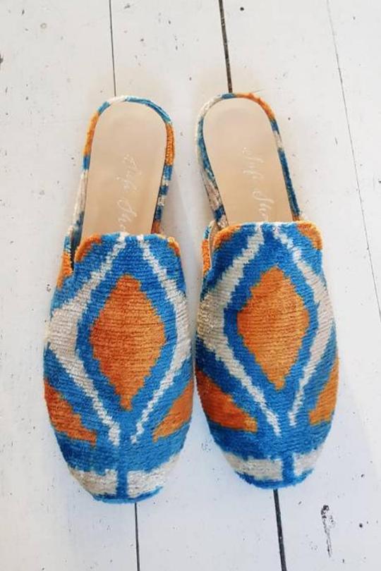 Women Ikat shoes Sandal