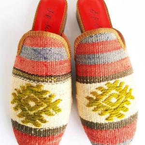 Women Kilim Sandal Loafer Handmade