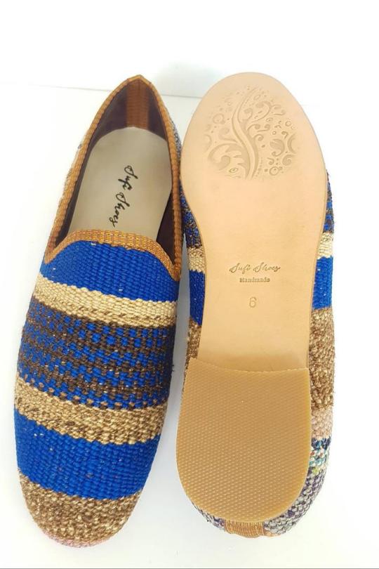 Men Kilim Shoes Handmade Loafer