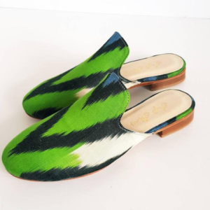 Pure Silk Mule Shoes for Women
