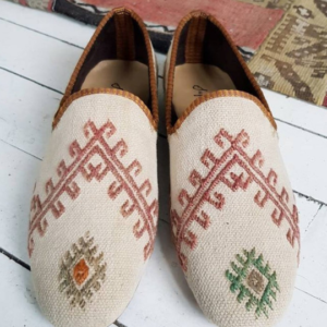 Women Kilim Shoes Vintage