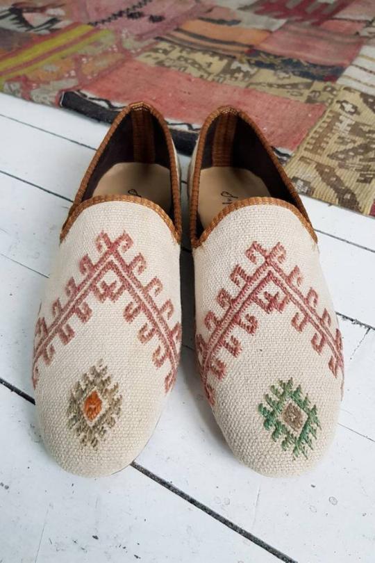 Women Kilim Shoes Vintage